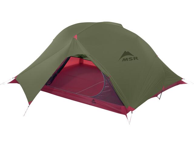 Msr Carbon Reflex 3 V4 Tent Green At Addnature Co Uk
